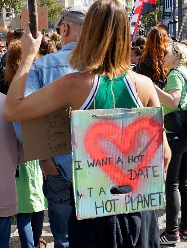 Ich möcht' ein heißes Date ~ keinen heißen Planeten