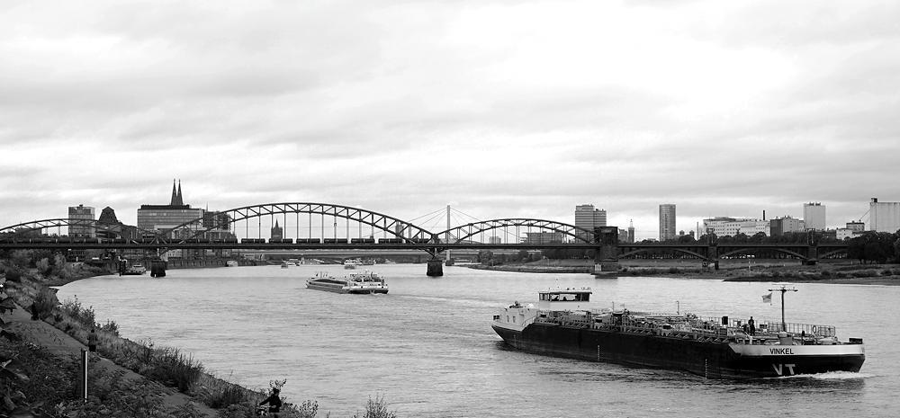 Köln am Rhein ~ mit Südbrücke