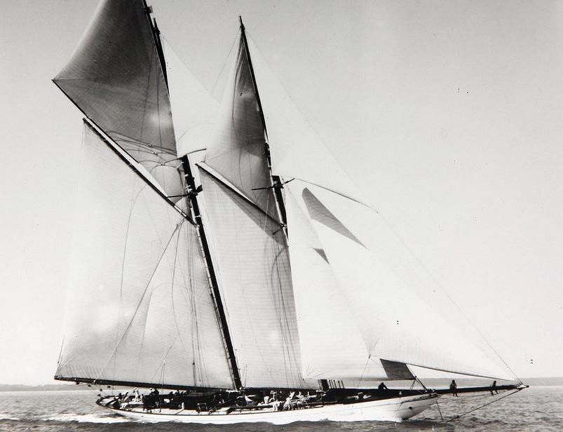 Yacht Germania 1908, gemeinfrei