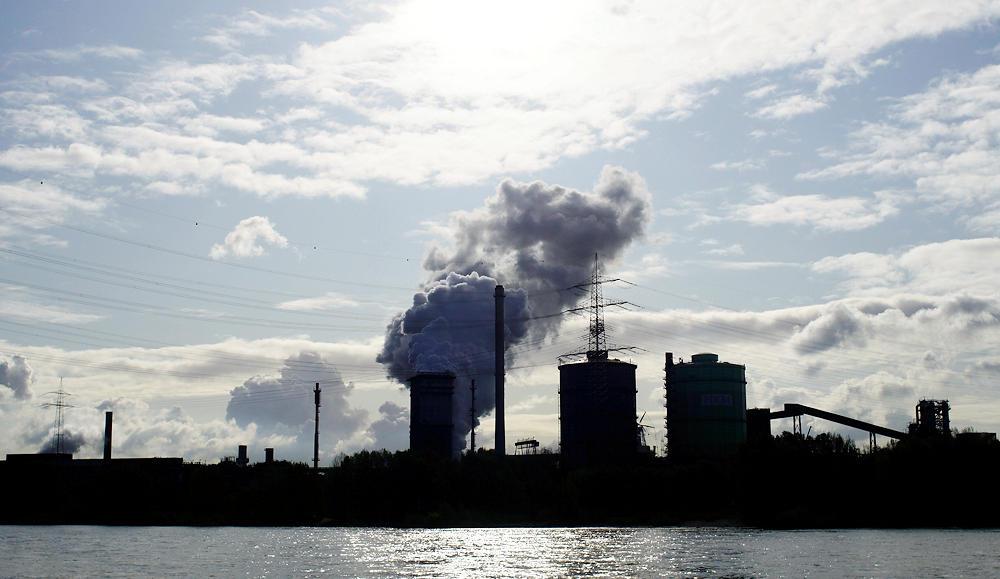 Dampf ablassen ~ Chemieindustrie Duisburg ~ diesmal mit Sonne :)