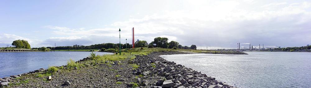 rechts der Rhein, links die Ruhr