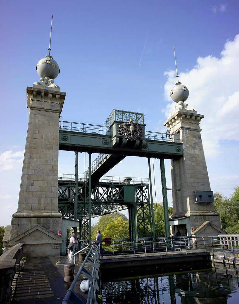historisches Schiffshebewerk Henrichenburg ~ oben