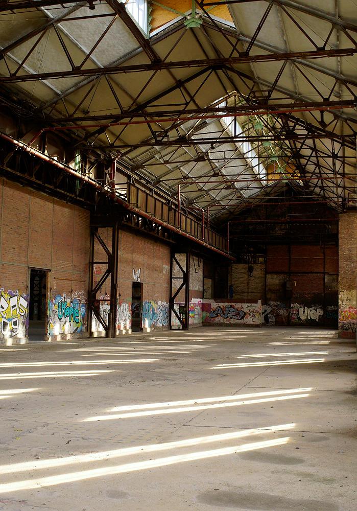 Phönix-West ~ alte Fabrikhalle