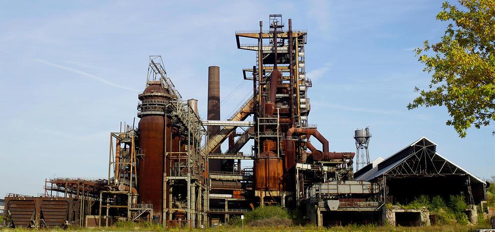 ehemaliges Stahlwerk / Hochofen Phönix-West in Dortmund