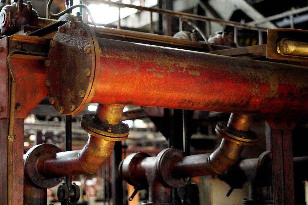 in der Kohlenwäsche ~ Wasserzuleitung