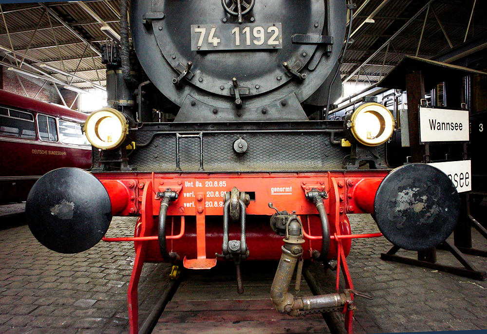 Dampflok Baureihe 74