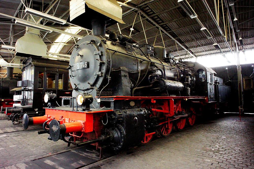 Dampflok Baureihe 55