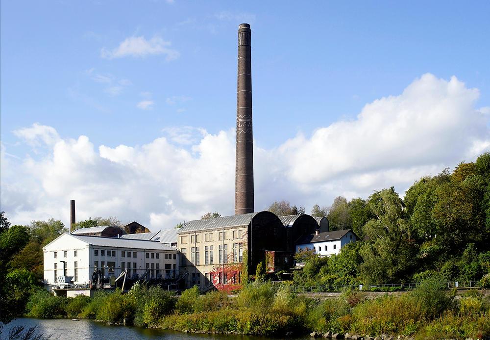 Horster Mühle ~ Carbidfabrik Vogelsang ~ jetzt Wasserkraftwerk