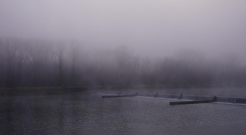 26.12. morgens ~ leichte Nebelschwaden