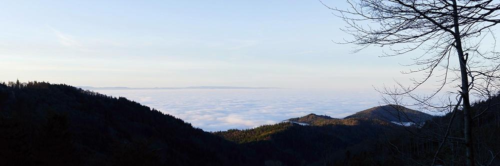 Inversion ~ Ausflug über die Wolken