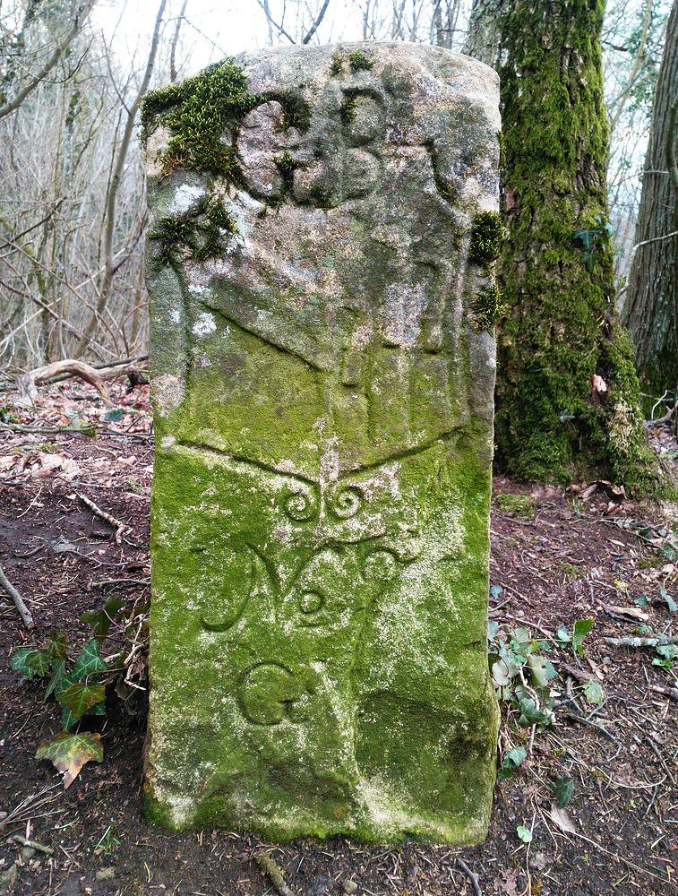 Grenzstein ~ zwischen Ihringen und Bickensohl