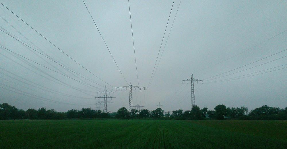 Energiefluss ~ Blick nach Norden