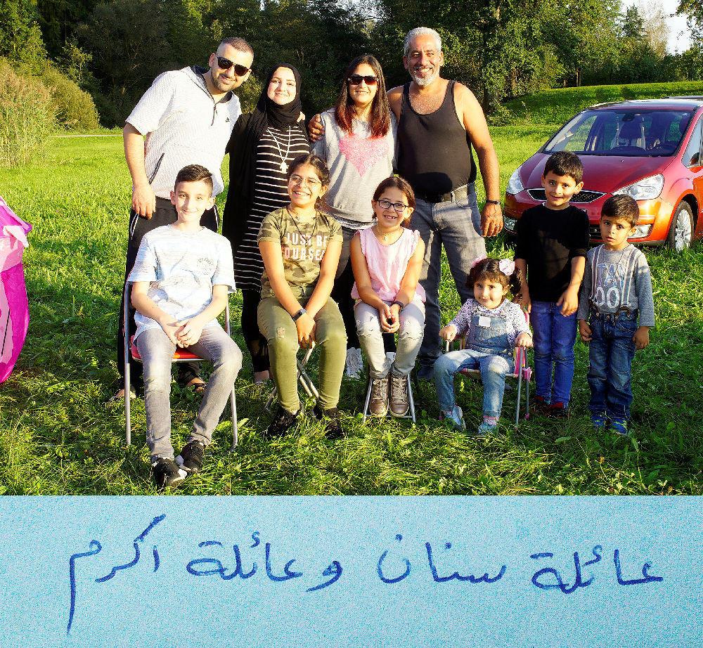 Familien Sinan und Akram aus dem Irak
