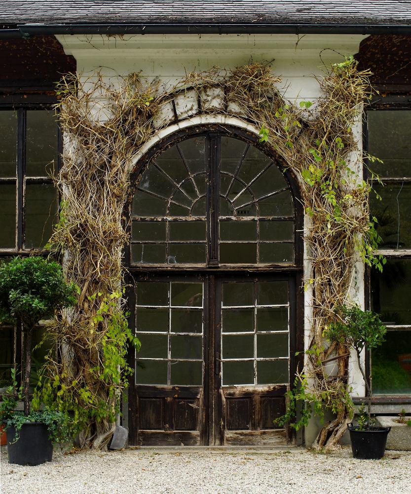 Portal des Klostergewächshauses