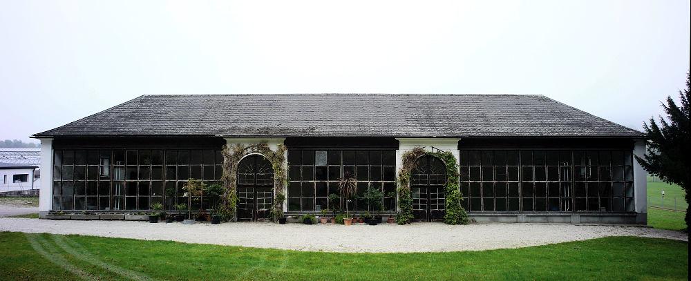 altes Gewächshaus der Klostergärtnerei