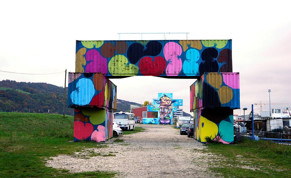 Container-Brücke