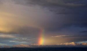Prisma ~ Spektralsäule aus Licht