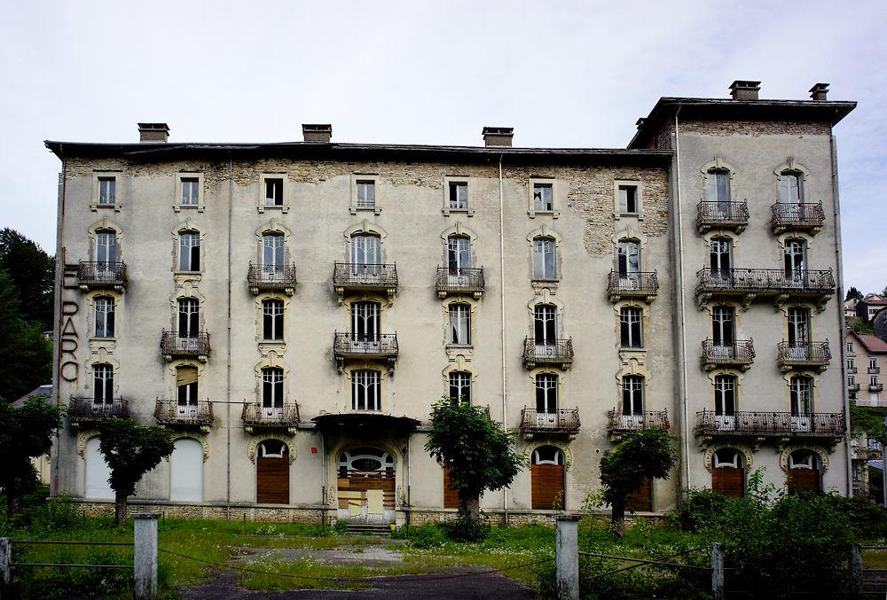 Hotel Le Parc ~ von vorne