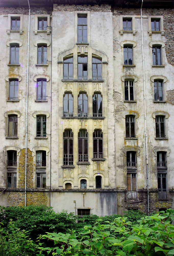 Hotel Le Parc ~ von hinten